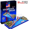 3D Puzzle CubicFun - Most Golden Gate - 20 el.