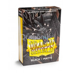 YGO: Dragon Shield Small Sleeves - Japanese Matte Black (60 Sleeves)