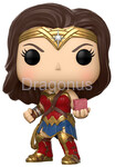 Funko POP DC Justice League - Wonder Woman w/ Mother Box (Exclusive)