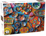 Puzzle Tactic - Mexican Pottery, 1000 el.