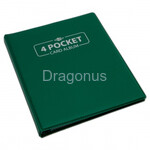 Blackfire 4 Pocket Card Album - Green