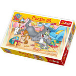 Puzzle Trefl - Tom i Jerry - Malowanki, 60 el.