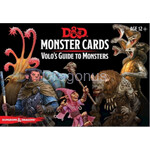 D&D Monster Cards - Volo`s Guide To Monsters (81 Cards) - wydanie angielskie