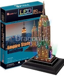 3D Puzzle CubicFun LED - Empire State Building - 38 el