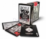 Bicycle: Black Tiger Red Pips