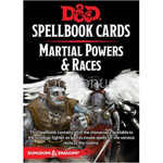 D&D Spellbook Cards - Martial Powers & Races (61 Cards) - wydanie angielskie