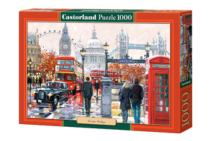Castorland: Puzzle - London  Collage - 1000 el